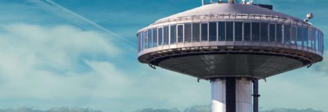 #4 non-touristy things to do in Madrid: Visit Faro de Moncloa.