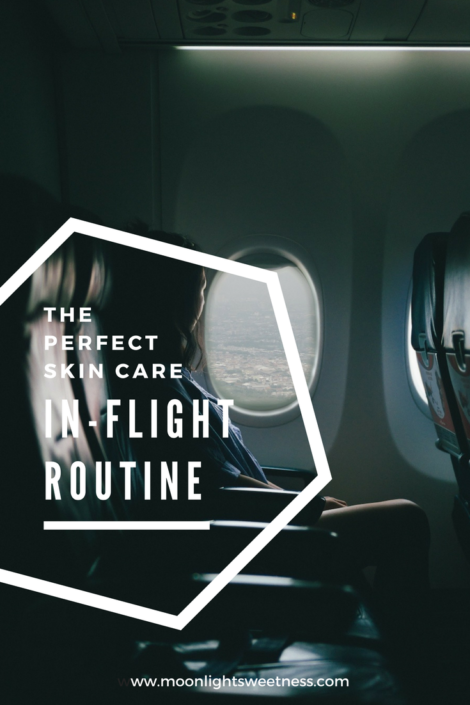 The perfect skin care in-flight routine to salvage your skin at 40,000 ft.