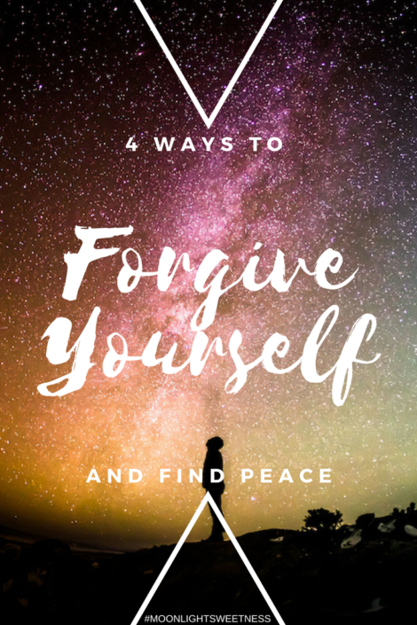 4 Ways To Forgive Yourself and Find Peace. Understanding your human nature in order to own your mistakes, achieve self-forgiveness and not dwell in the past.