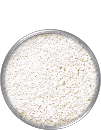 Kryolan professional translucent powder-a classical powder preparation characterized by its fineness and high degree of color neutrality. Translucent Powder contains a large share of modified rice starch, unique in its specification. It assures great absorption power and enhances the durability of make-up on the skin.