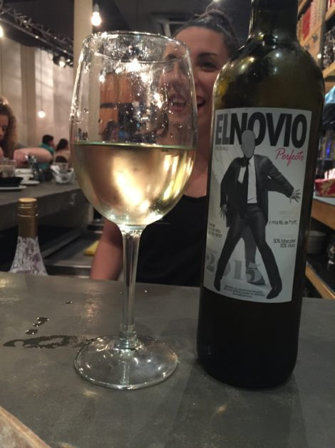 24 hours in Seville. The best white wine you´ll ever drink in Seville.