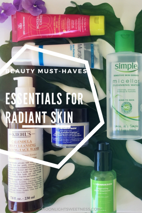 Beauty must-haves. Essentials for radiant and younger-looking skin.