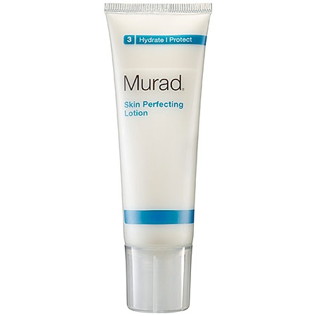 Beauty essentials for radiant skin-Murad skin perfecting lotion. What you need for a fair complexion.