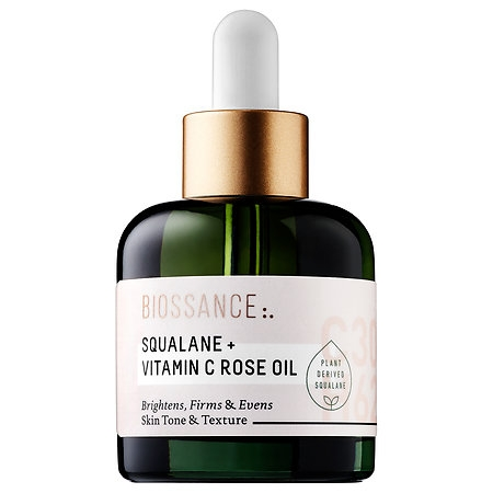 "Biossance Squalance + Vitaminc C Rose Oil. 4 Spring Secrets for Radiant Skin: Get Ready to Glow. How to get rid of dullness and uneven texture just in time for Summer. Do the ""no makeup look"" without the need of any makeup."