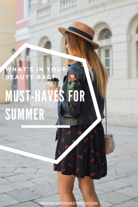This Summer, be practical. Know what's works for your skin and don't stuff your purse. Learn about the must-haves for your Summer Beauty Bag.