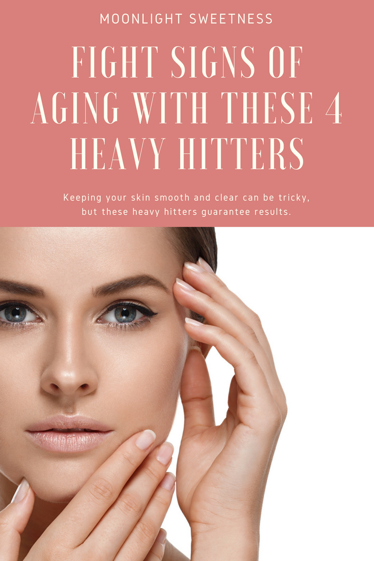 How to get a more youthful appearance, no blemishes...The biggest organ in the human body is skin, so why not take proper care of it?! Find out how to fight the signs of aging with these 4 heavy hitters . There are some products and treatments that deliver results. Click for more info.